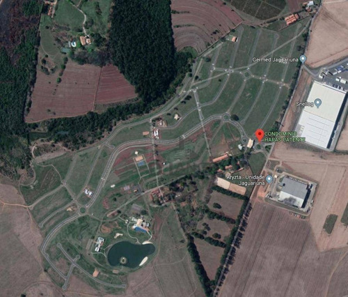 terreno à venda, 962 m² por r$ 590.000 - condomínio haras patente - jaguariúna/sp - te4258