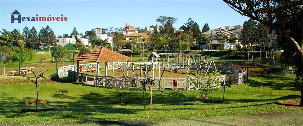 terreno à venda, 992 m² por r$ 1.091.266,00 - aldeia da serra - barueri/sp - te0003