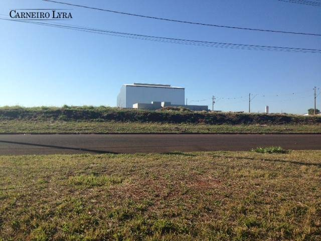 terreno à venda, 998 m² por r$ 265.000 - distrito empresarial - jaú/sp - te0201