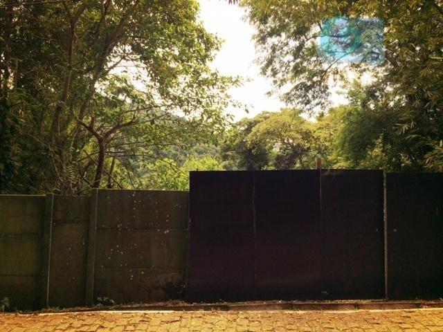 terreno à venda, codomínio sítio são pedro, guarujá. - te0275
