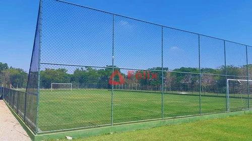 terreno à venda, com 271 m² no condomínio morada do visconde, taubaté. - te0265