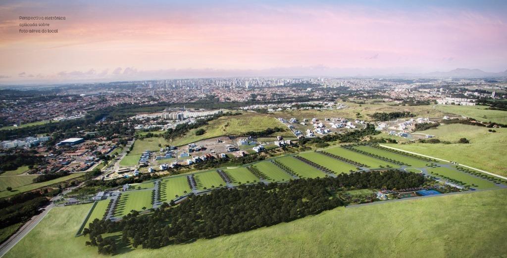 terreno à venda, cond. soleil piracicaba - jardim são francisco - piracicaba/sp - te0857