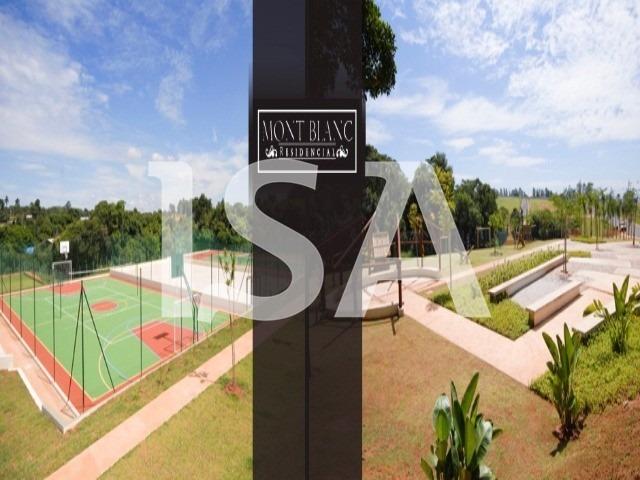 terreno venda, condomínio residencial mont blanc sorocaba, terreno 350 m² ótima topografia execelente localização - tc00289 - 3457800