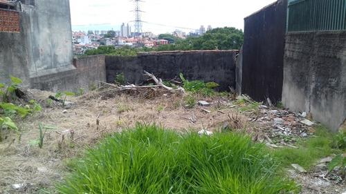 terreno à venda de 250m² - vila tiradentes - ref 78567