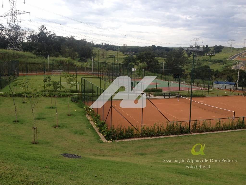 terreno à venda em alphaville dom pedro - te123933