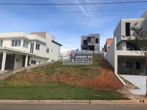 terreno à venda em bragança paulista, condomínio portal de bragança horizonte - te0091