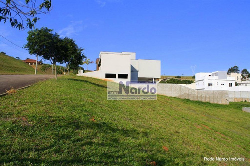 terreno à venda em bragança paulista, condomínio residencial terras de santa cruz - te0098