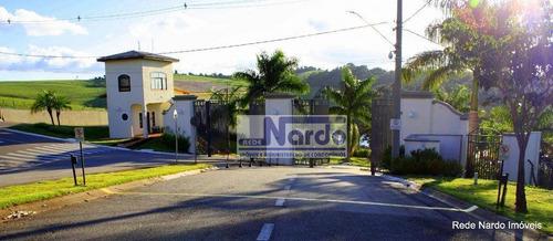 terreno à venda em bragança paulista no condomínio terras de santa cruz - te0086