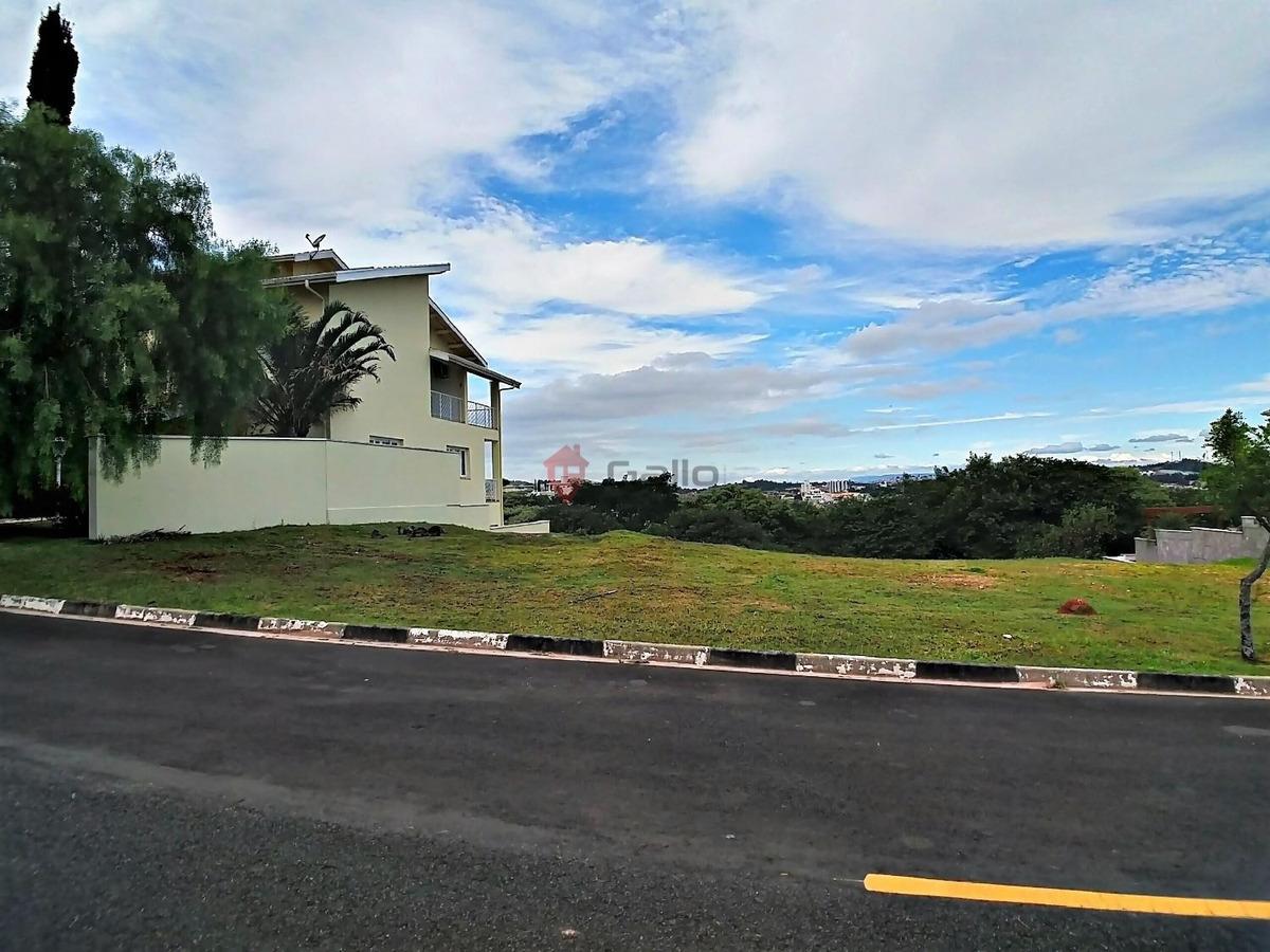 terreno à venda em condomínio terras de vinhedo - te005684