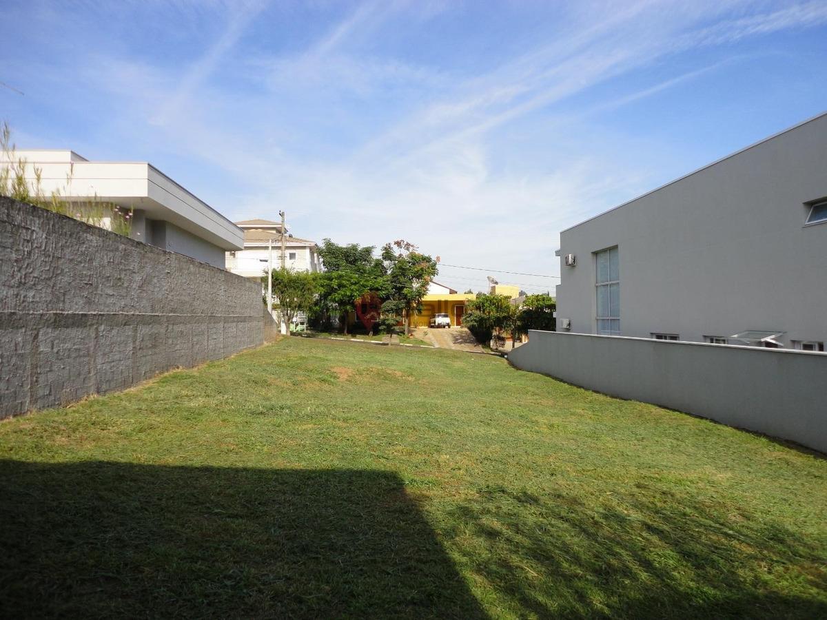 terreno à venda em condomínio terras de vinhedo - te007120