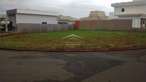 terreno à venda em condomínio terras do cancioneiro - te005742