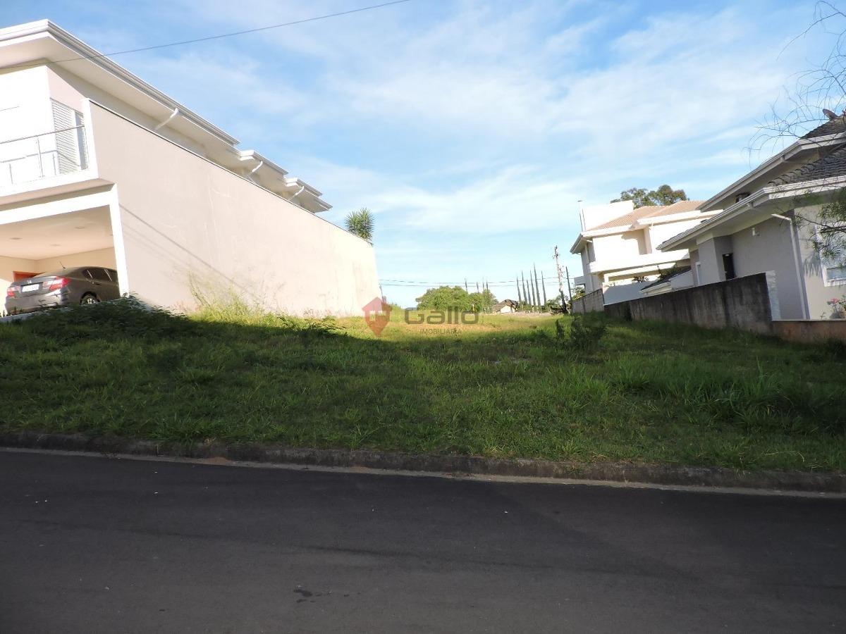 terreno à venda em condomínio villagio di verona - te005981