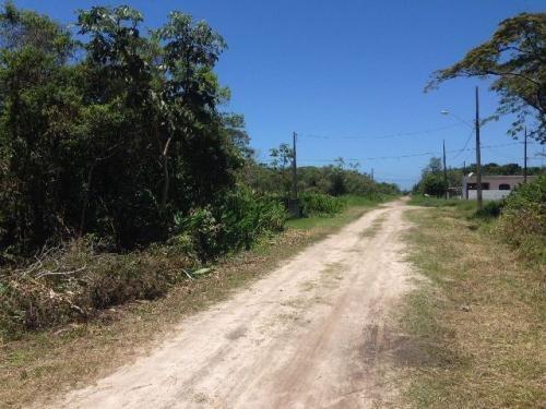 terreno à venda em itanhaém-sp, com 250 m², confira!