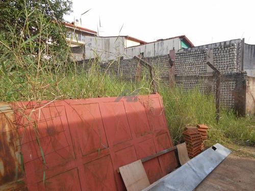 terreno à venda em jardim antonio von zuben - te037305