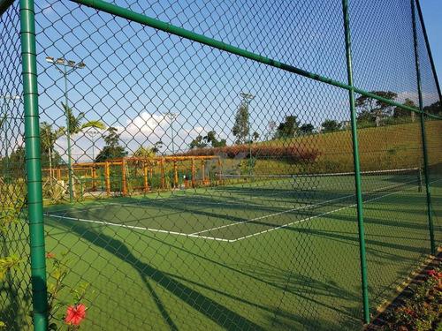 terreno à venda em loteamento residencial entre verdes (sousas) - te004738