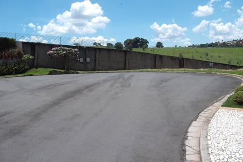 terreno à venda em loteamento residencial jaguari (sousas) - te000664