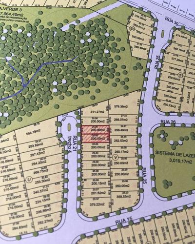 terreno à venda em residencial parque da fazenda - te048453