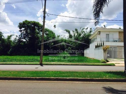 terreno à venda em residencial terras do barão - te005134