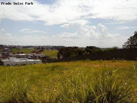 terreno à venda em swiss park - te161828