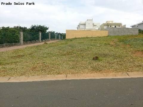 terreno à venda em swiss park - te162178