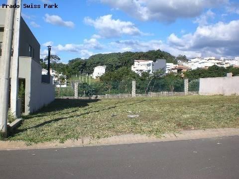 terreno à venda em swiss park - te162364