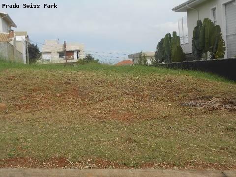 terreno à venda em swiss park - te162381