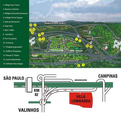 terreno à venda em vila lombarda - te241623