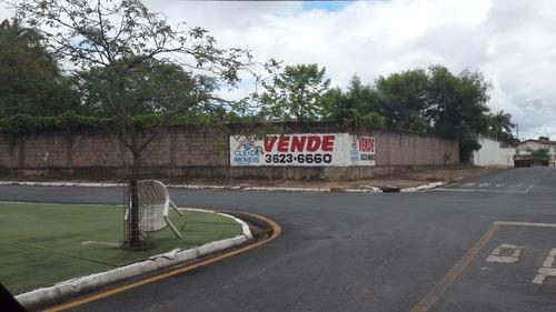 terreno à venda,  esquina 823 m² por r$ 750.000,00 - jardim das américas - cuiabá/mt - te0256