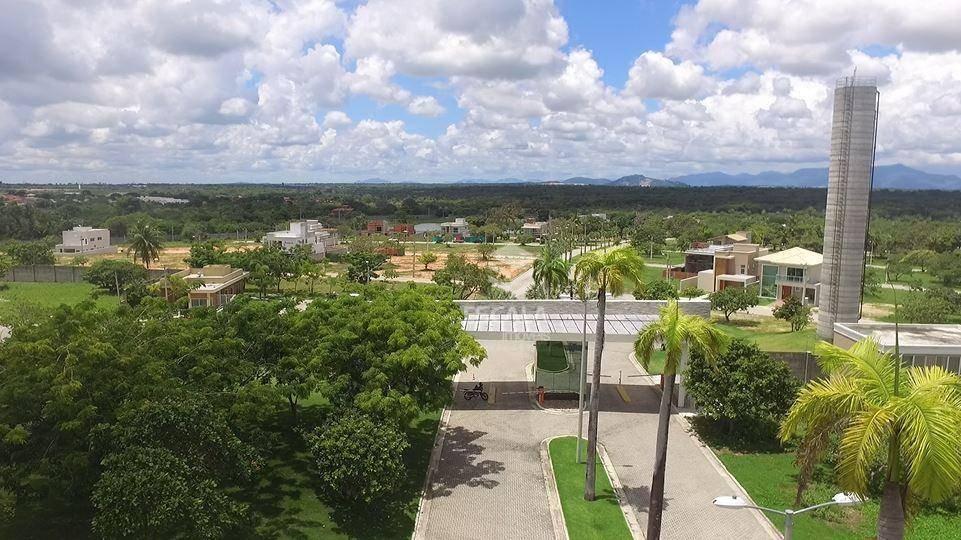 terreno à venda jardins do lago, 295 m², condomínio fechado, oferta - centro - eusébio/ce - te0275