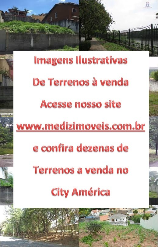 terreno à venda no city america - 3043