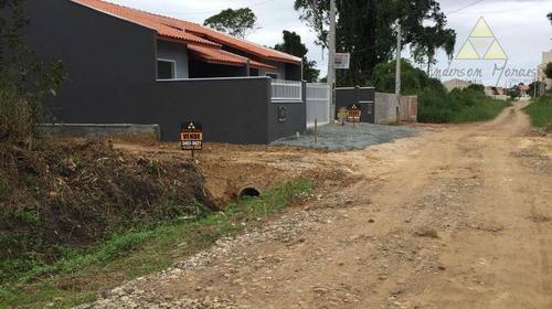 terreno à venda por r$ 75.000 - itajuba - barra velha/sc - te0148