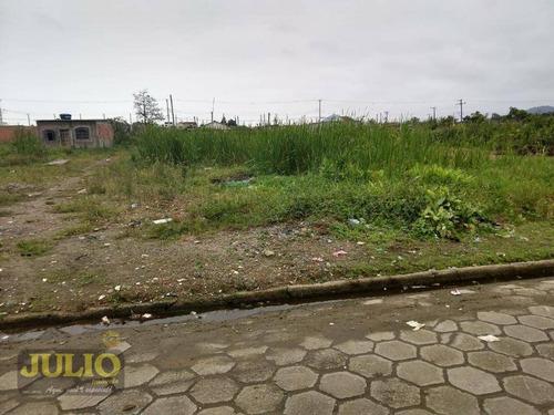 terreno à venda, vila atlântica, mongaguá. - te0251