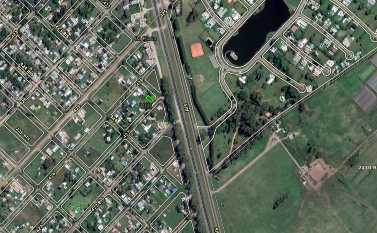 terreno venta -10 x 20 mts -regular y nivelado -ruta 2 km 46,5