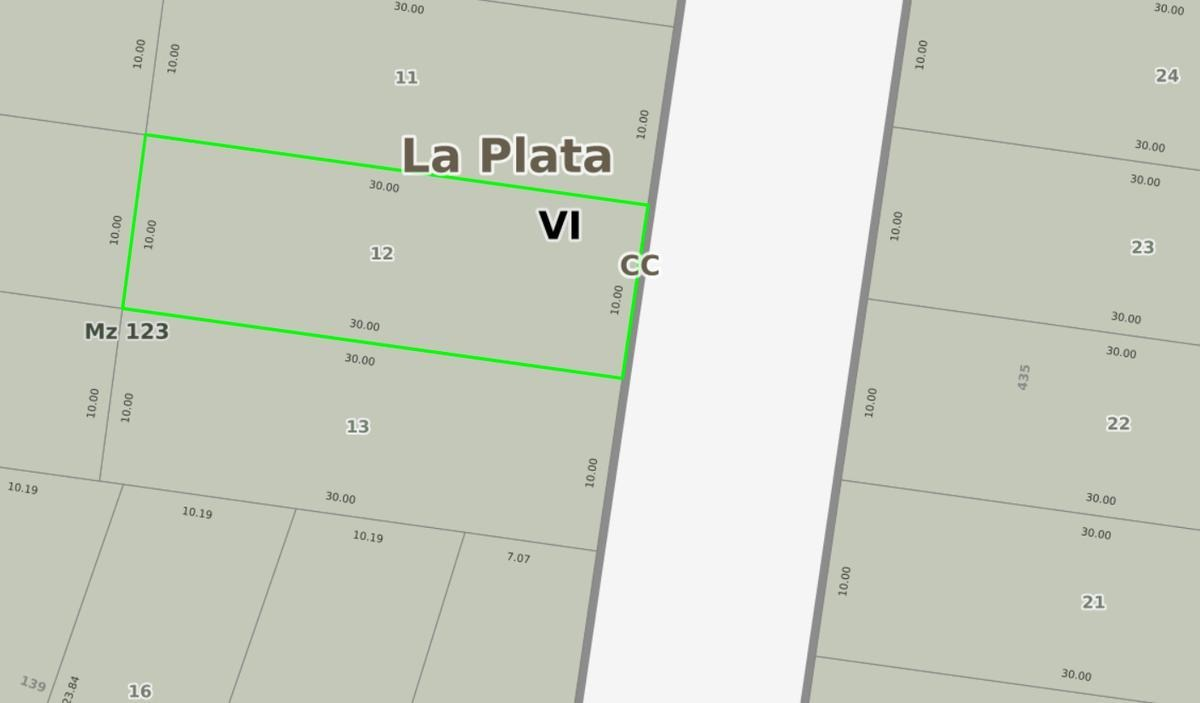 terreno venta-10 x 30 mts -300 mts 2 - arturo segui