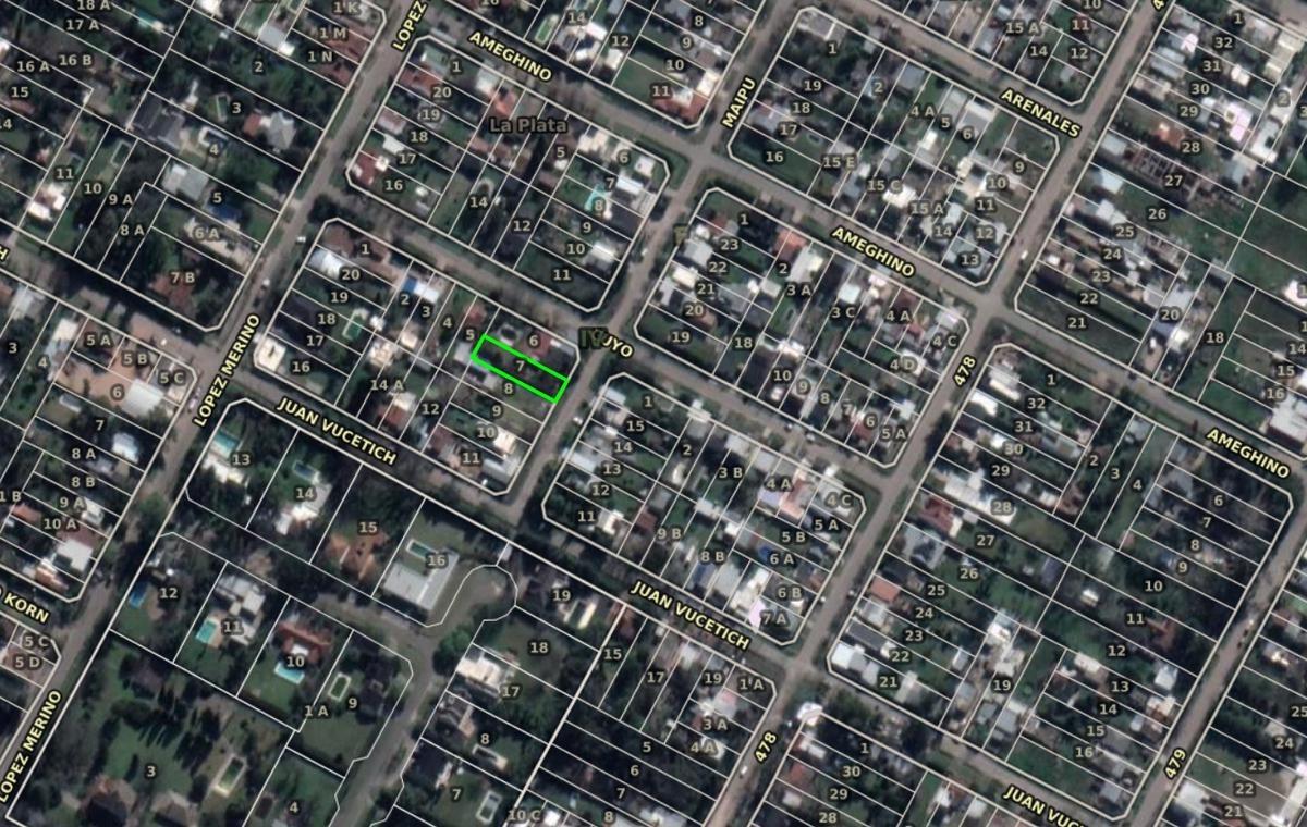 terreno venta 10 x 39,20 mts -392 mts 2- villa castells