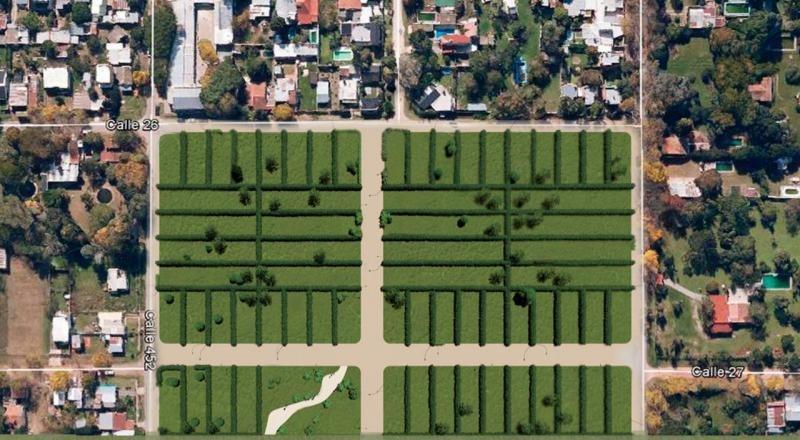 terreno venta -11,26 x 27,75 mts -312,5 mts 2 - city bell