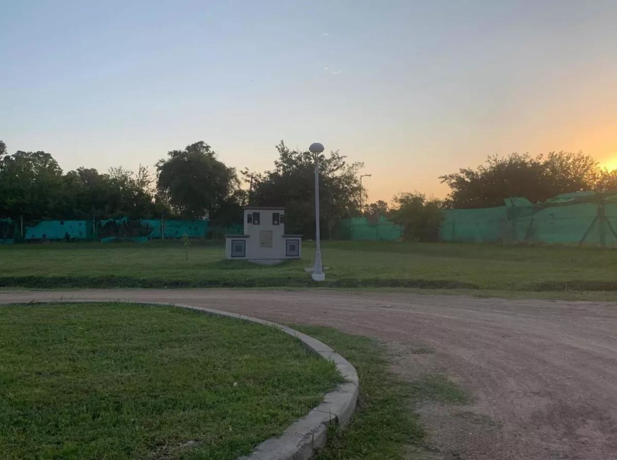 terreno venta 14 x 30 mts -430 mts 2 -barrio cerrado las huertas - manuel b gonnet