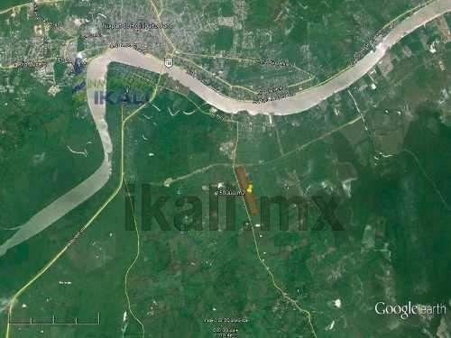 terreno venta 15 hectáreas zona industrial tuxpan veracruz. terreno de 150,000 m², se encuentra ubicado en la carretera a cazones por los kilómetros, en el entronque con la autopista a la zona indust
