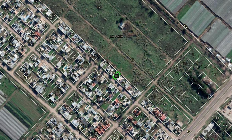terreno venta 161 mts 2 -8,66 x 18,57 mts - lisandro olmos etcheverry