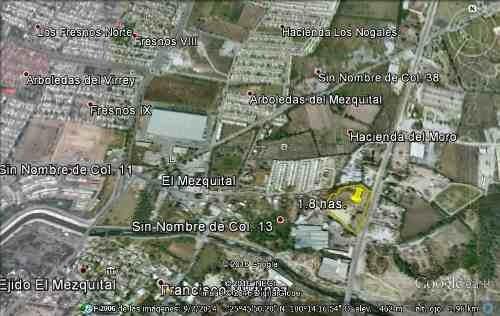 terreno venta 18,000 metros el mezquital apodaca nuevo leon