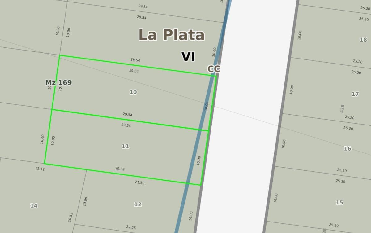 terreno venta 20 x 29,50 mts sobre calle asfaltada-590 mts 2 -arturo seguí