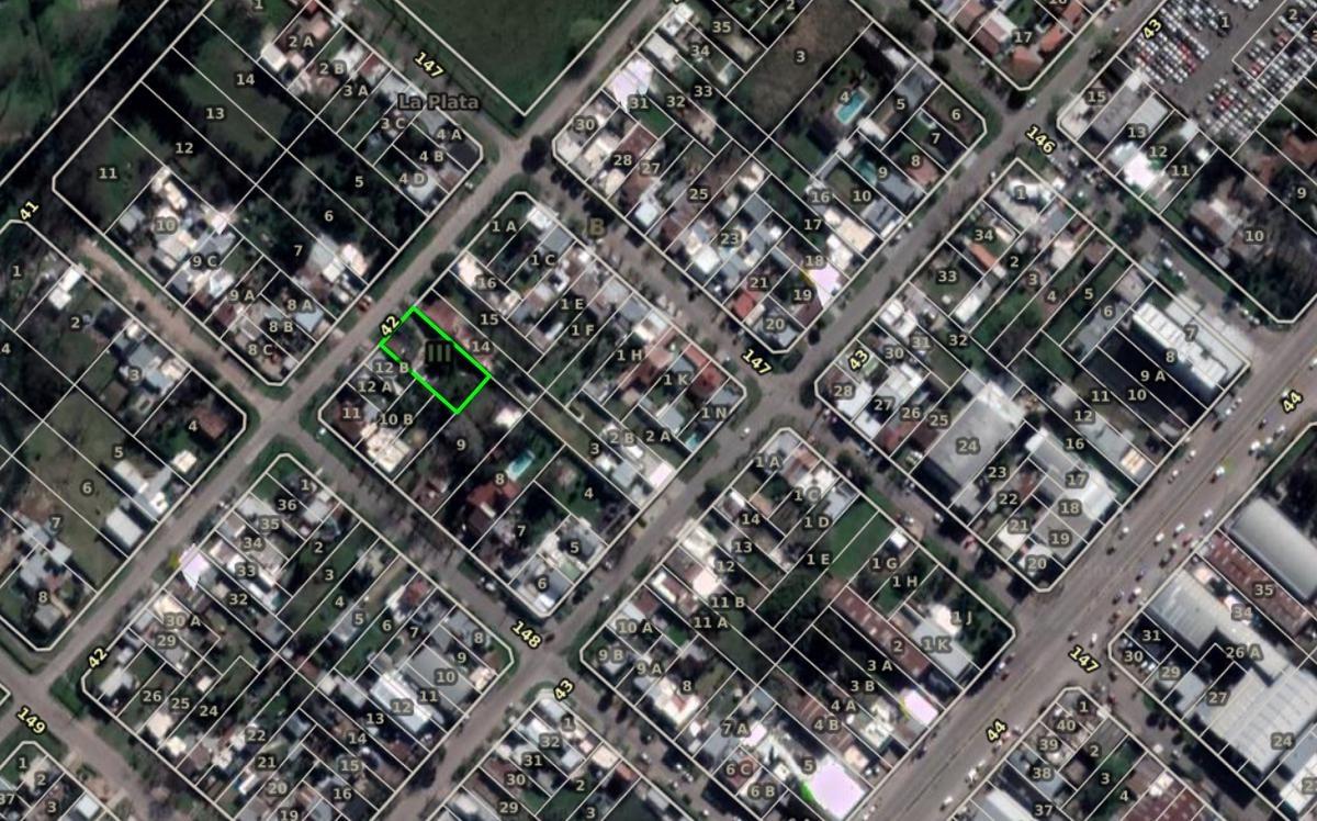 terreno venta 20 x 40  mts-800 mts 2- casa 130 mts 2 - los hornos