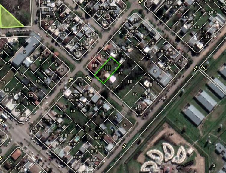 terreno venta 20 x 40 mts -800 mts 2-todos los servicios   - lisandro olmos etcheverry