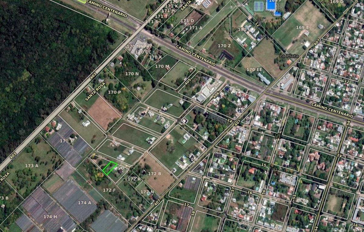 terreno venta -21,50 x 41 mts-898 mts 2 - entre caminos - villa elisa