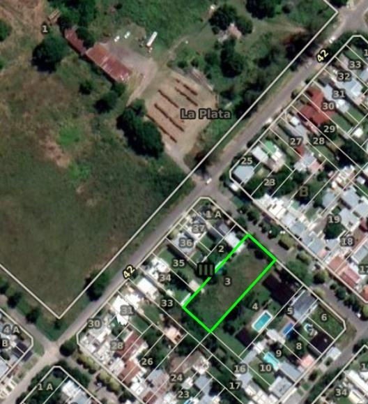 terreno venta 23 x 60 mts 2-1,380 mts 2 -todos los servicios- barrio gambier