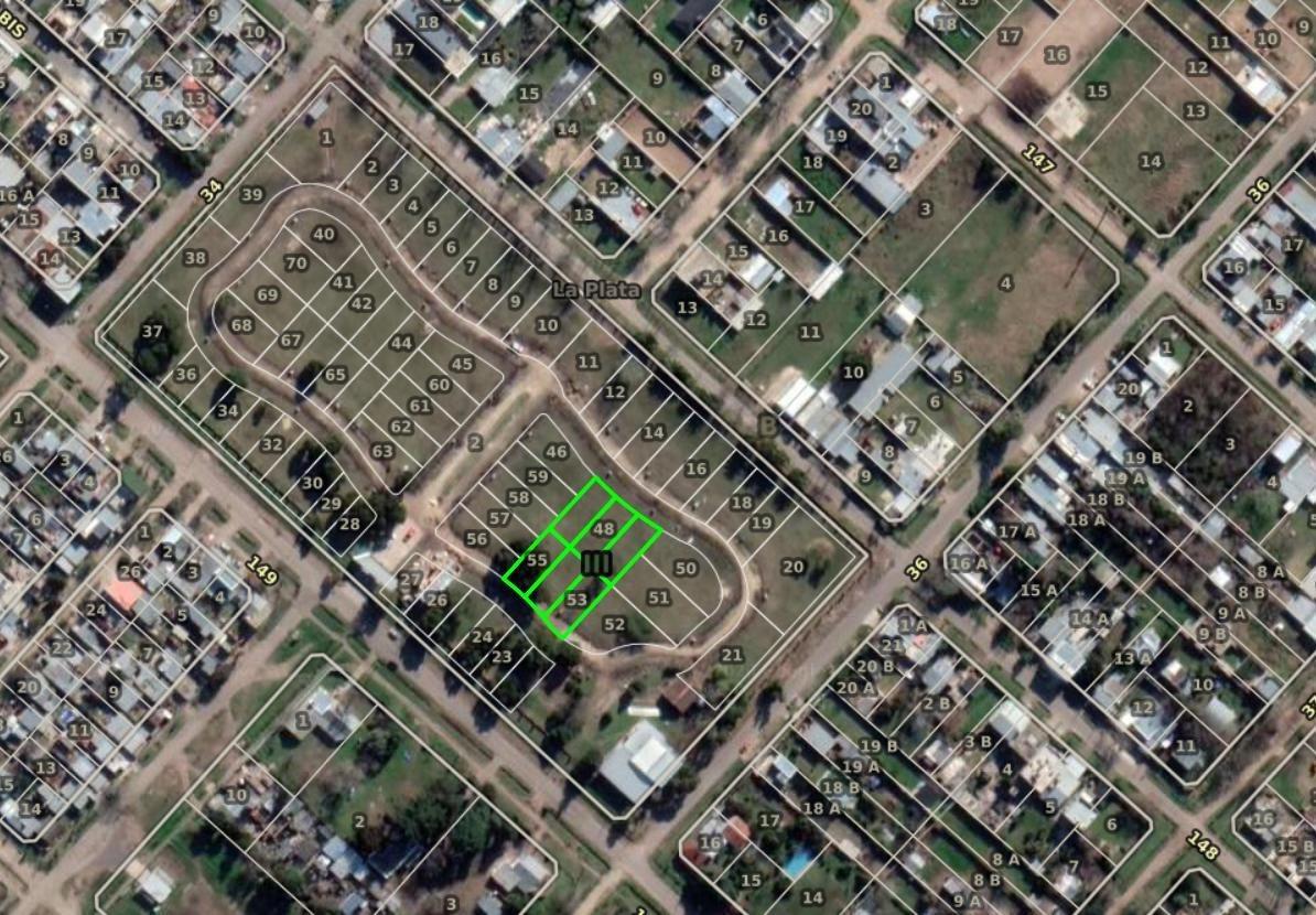 terreno venta- 235  mts a 251 mts 2  -gimnasio y piscina-barrio cerrado altos de la plata- san carlos