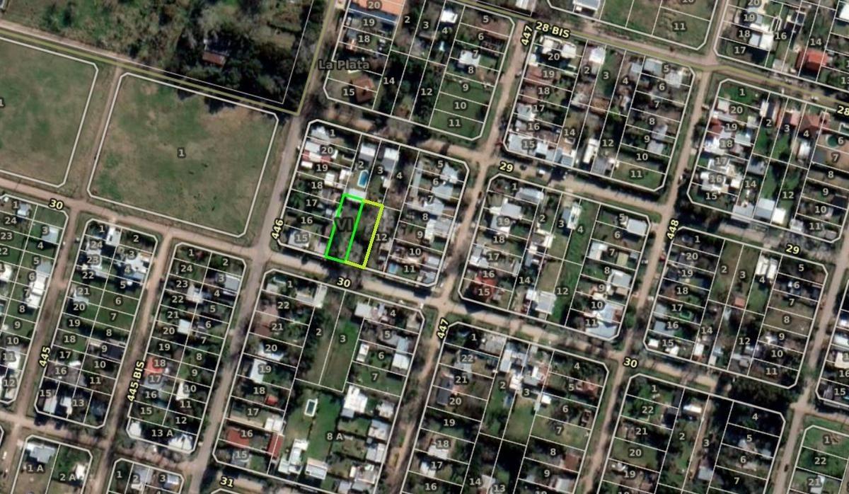 terreno venta -24 x 39 mts -936 mts 2 -todos los servicios - city bell