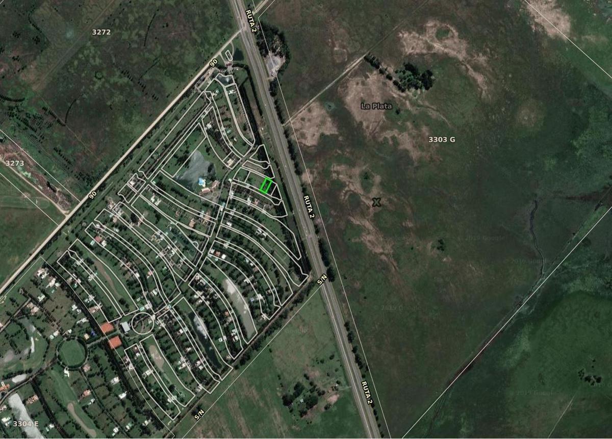 terreno venta 24,34 x 55 mts.- 1,339 mts 2  - club miralagos