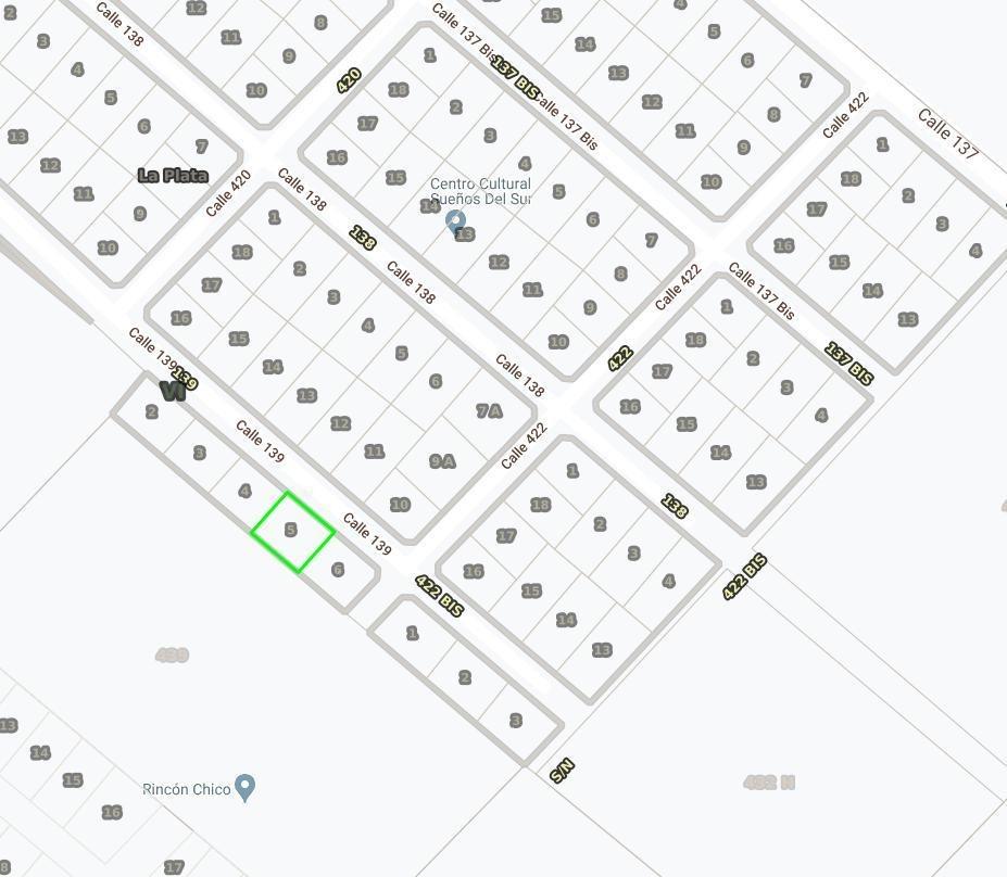 terreno venta -27 x 25 mts-674 mts 2 - a una  cuadra avenida arana  - villa elisa