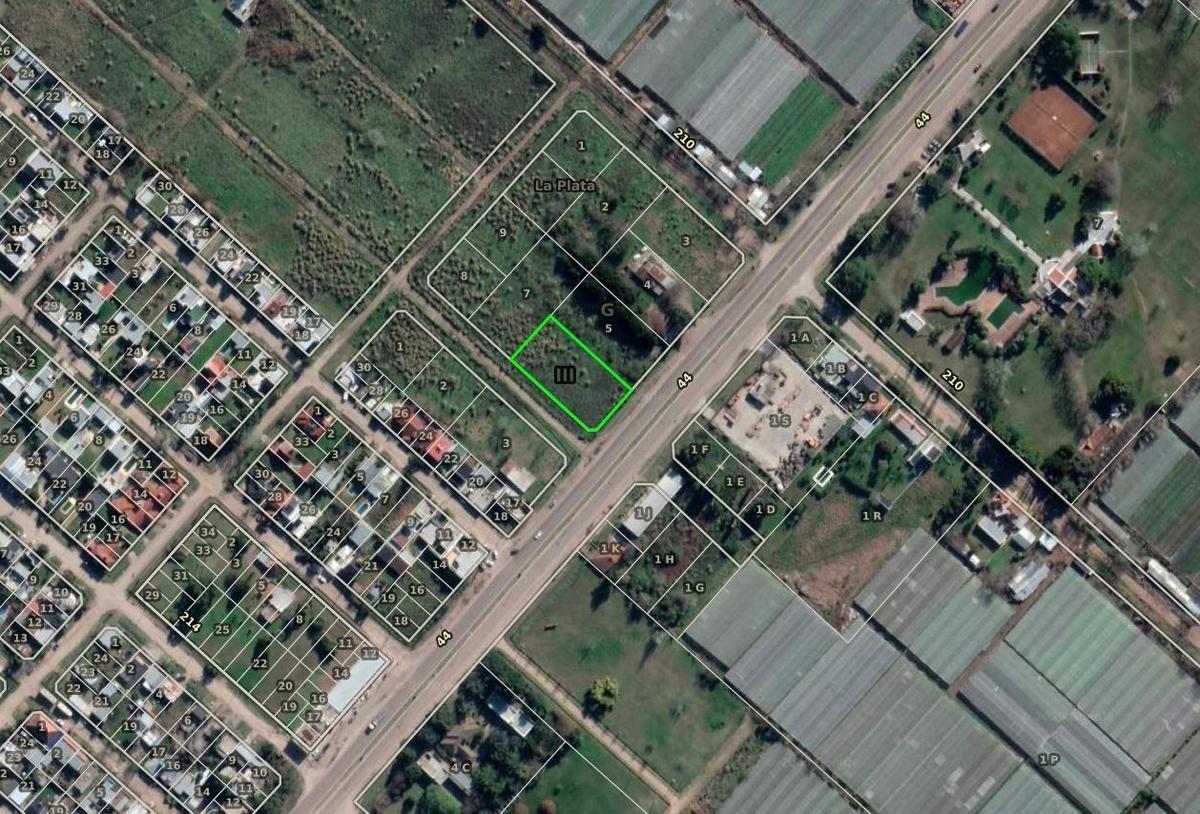 terreno venta 30 x 57 mts -1,720 mts 2 -avenida 44 y 212 - lisandro olmos etcheverry